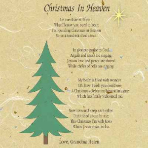 Christmas in Heaven Frame