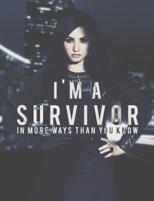 Demi Lovato - Warrior I have these lyrics tattooed on my back :)