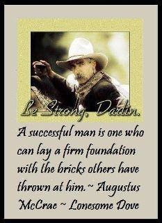 Augustus Mccrae Lonesome Dove Quote Western Antiqued Wooden Sign