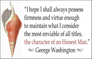 George Washington Best Quotes First