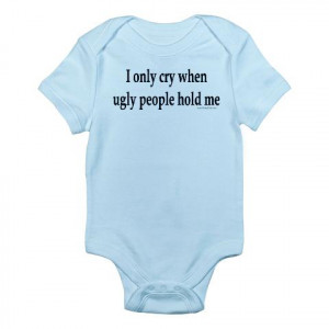 Funny Baby Onesies as Gifts