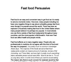 Persuasive speeches to buy
