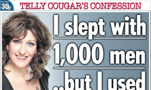 Cougar Women Quotes The sun's 'cougar' front page