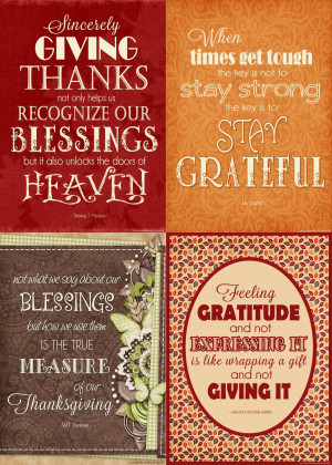 Sunday sentiments... week 20 {gratitude}