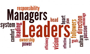 Another way of looking at manager and leader is the following contrast ...