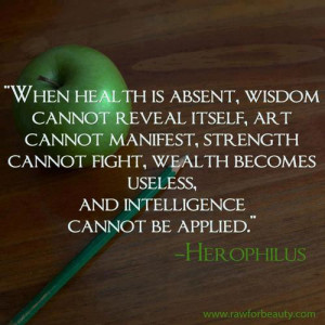 When Health is Absent – Herophilus