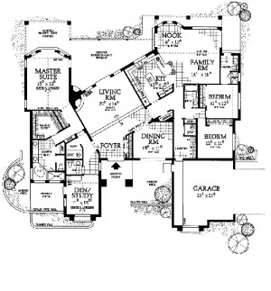 Spanish Style House Plans With Courtyard