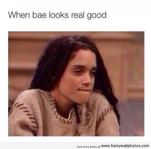 When Bae Looks Real Good | Photo