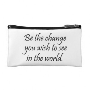 Inspirational quotes gifts cosmetic bags gift