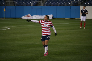 Abby Wambach scored her 153rd career international goal in her 200th ...