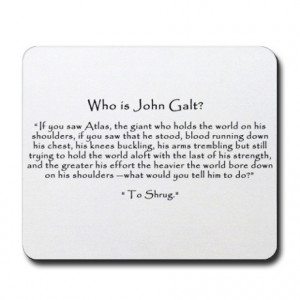 shrugged gifts atlas shrugged office who is john galt to shrug quote ...