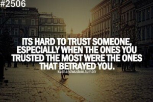 Quotes About Backstabbers at Work | So hard to trust people.... | That ...