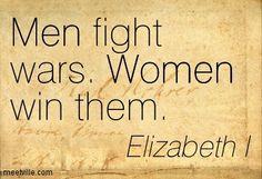 Elizabeth I Tudor Quotes ~ More