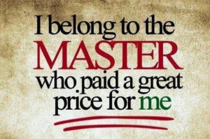 Belong To The Master