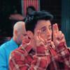Joey Tribbiani: [Joey] Air Quote