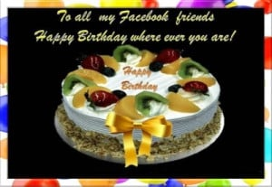 Happy Birthday Quotes for Facebook Wall