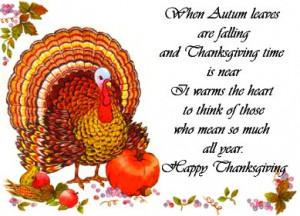Happy Thanksgiving Poems