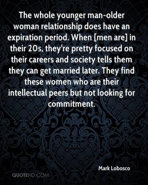 Older Women Younger Men Quotes