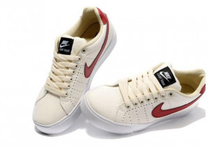 Scarpe Nike Blazer Low Premium Canvas Beige 1972 Vino Rosso Suede