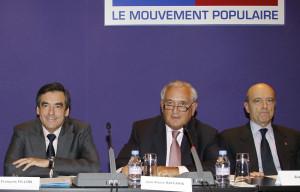 Francois Fillon Jean Pierre Raffarin et Alain Juppe jpg