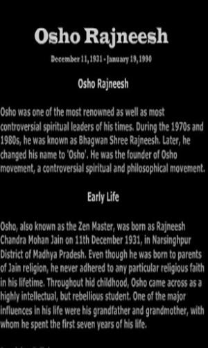 View bigger - Biography Osho Rajneesh for Android screenshot