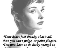 Audrey Hepburn Quote by ~LadyDietrich on deviantART