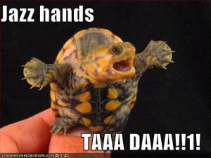 Jazz Hands Meme