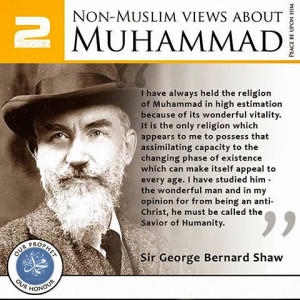 Quotes from Famous Non-Muslims about the Prophet Muhammad (SAW)
