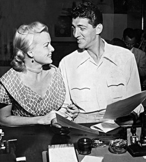 Dean Martin and Jeanne Biegger applying for a marriage license in ...