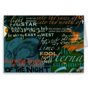 shakespeare_quotes_love_poetry_dark_greeting_card ...