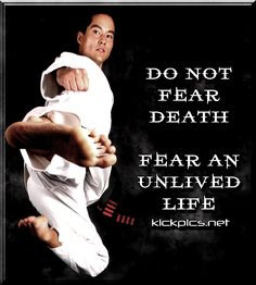 Inspirational / Motivational Quotes...with Martial Arts