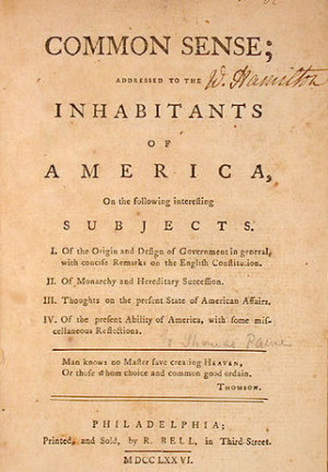 Thomas Paine Biography for Kids – Common Sense