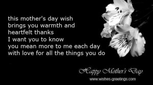 mother's day quotes mother from son to mom