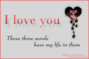 THREE WORDS