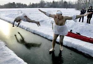 Funny Swan lake