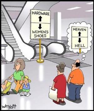 fashion funnies: shoe shopping…