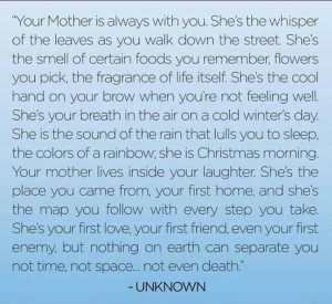 Beautiful tribute to moms