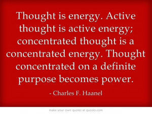 great quote from charles f haanel master key system