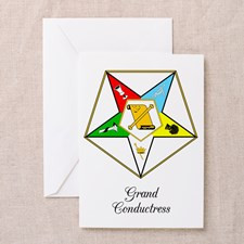 Grand Conductress Greeting Card for