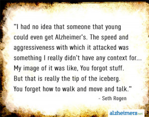 Quote: I Had No Idea Young People Could Get Alzheimer's