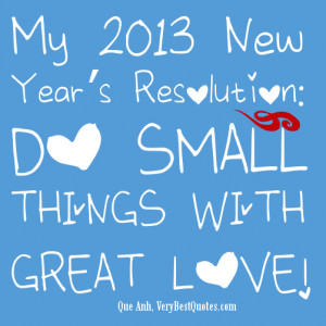 Christian New Year's Resolutions Quotes