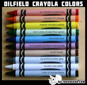 Oilfield Crayola Colors