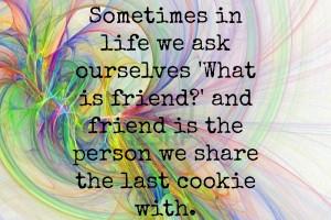 online friends quotes