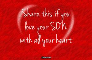 Love My Son | Others on Slapix.com