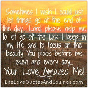 Sometimes I wish ...