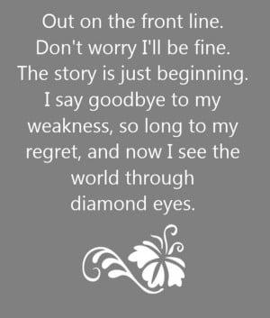 Shinedown - Diamond Eyes - song lyrics, song quotes, songs, music ...