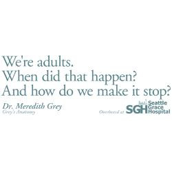 were_adults_greys_anatomy_quote_greeting_card.jpg?height=250&width=250 ...