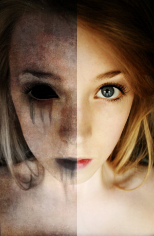 Split personality by Lushkya