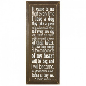 Loss Of A Dog Quotes — Love Quotes Image