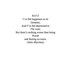 feeling numb quotes tumblr